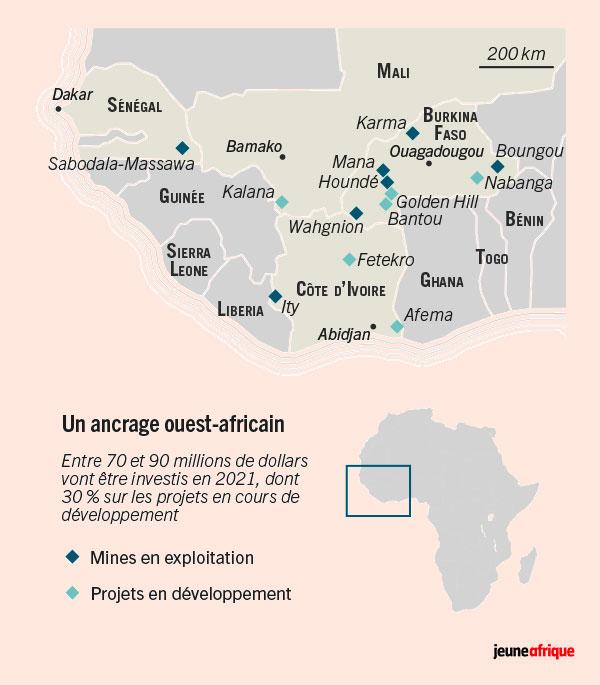 Un ancrage ouest-africain