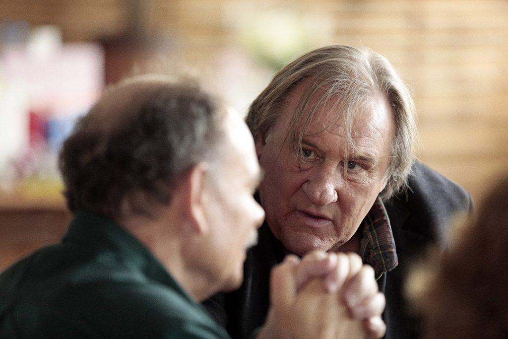 Gérard Depardieu (Feu-de-Bois) et Jean-Pierre Daroussin (Rabut) dans Des Hommes, de Lucas Belvaux
