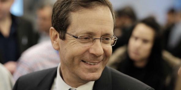 Isaac Herzog, chef du Parti travailliste. Congres du Parti travailliste