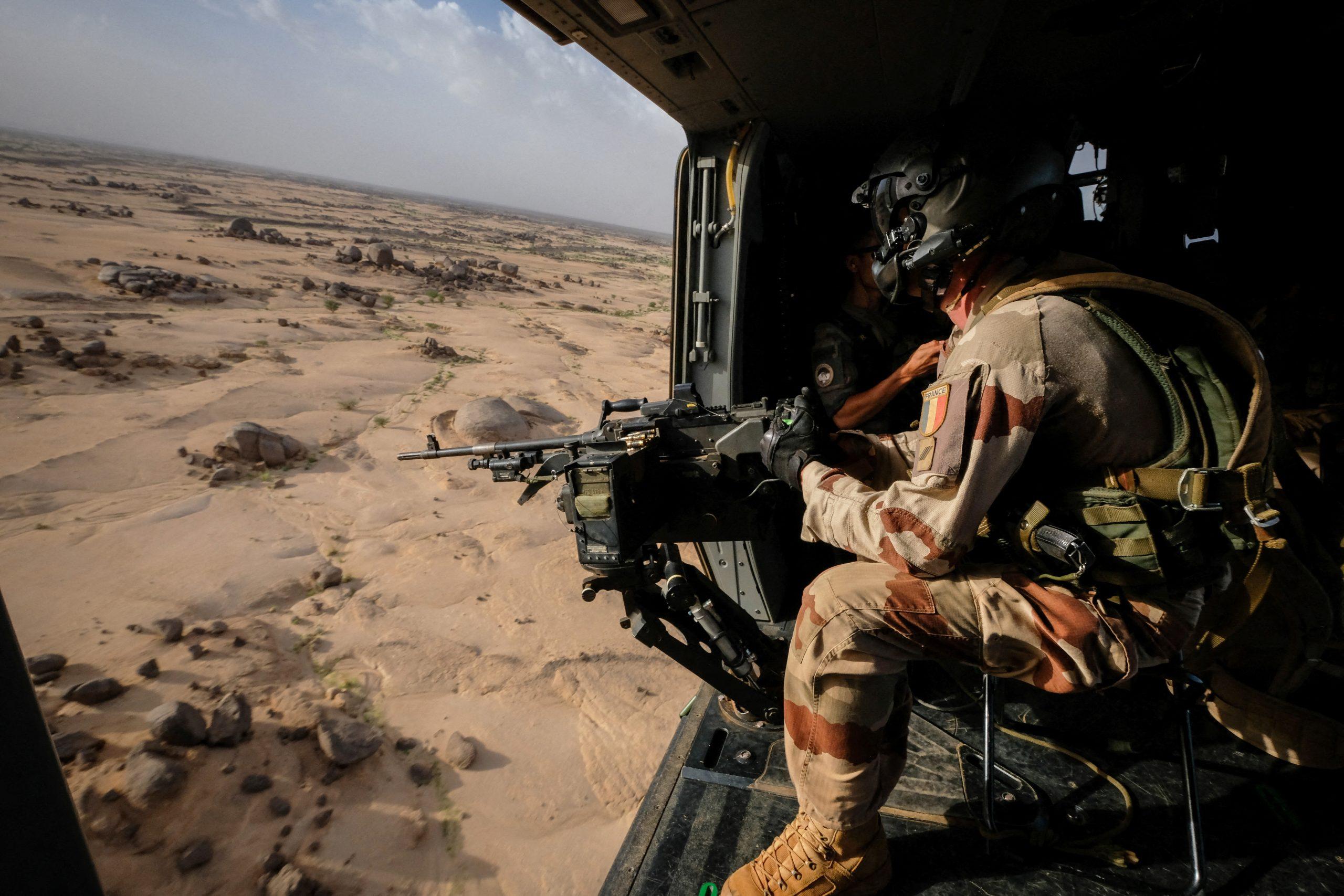 Des militaires français de l'opération Barkhane à Kidal, dans le nord du Mali, en 2018