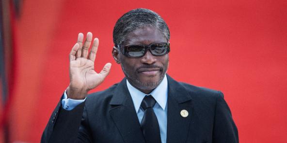 Teodoro Nguema Obiang Mangue, surnommé Teodorín, en mai 2019.