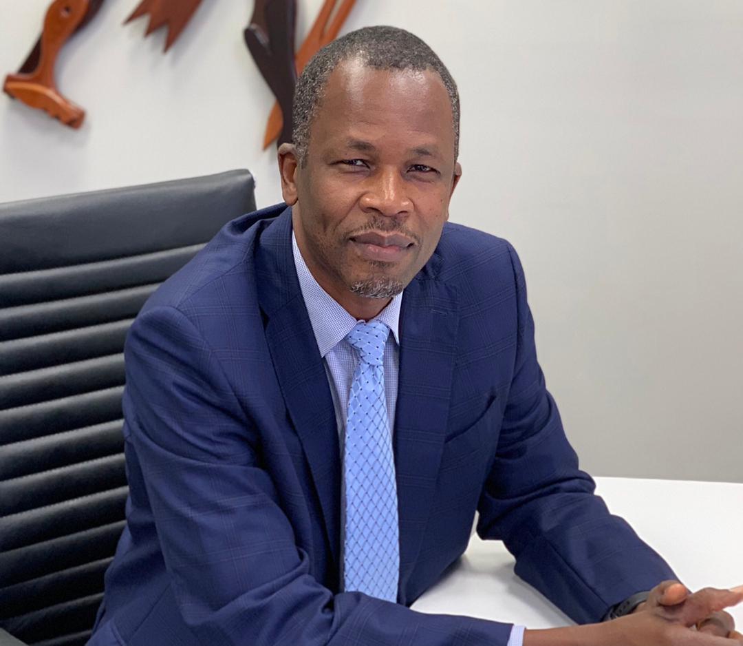 Le Burkinabè Oumar Toguyeni, vice-président principal du groupe canadien Iamgold.
