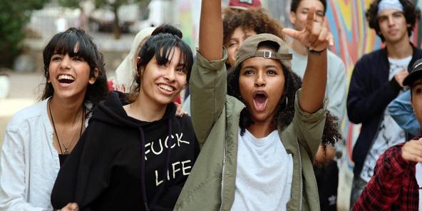 Une scène tirée du film «Haut et fort» de Nabil Ayouch.