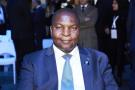 Le président centrafricain en 2019 à Paris.