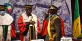 Assimi Goïta avait troqué son habituel treillis pour l'uniforme de commandant du bataillon autonome des forces spéciales et des centres d'aguerrissement