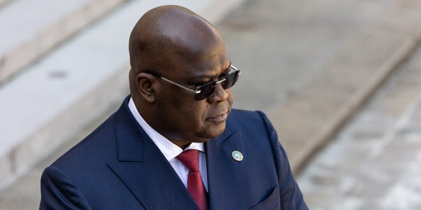 Le président Tshisekedi à Paris, le 27 avril 2021