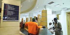 Une agence Access Bank à Kigali.