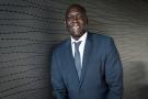 Makhtar Diop, directeur général et vice-président exécutif de IFC, au siège de la Banque mondiale à Paris, le 25 mai 2021.