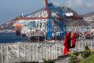 Port de Tanger Med, en juin 2019.