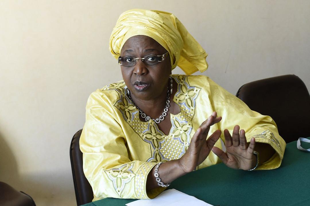 Awa Marie Coll Seck, la ministre sénégalaise de la Santé, le 20 mai 2014 à Genève.