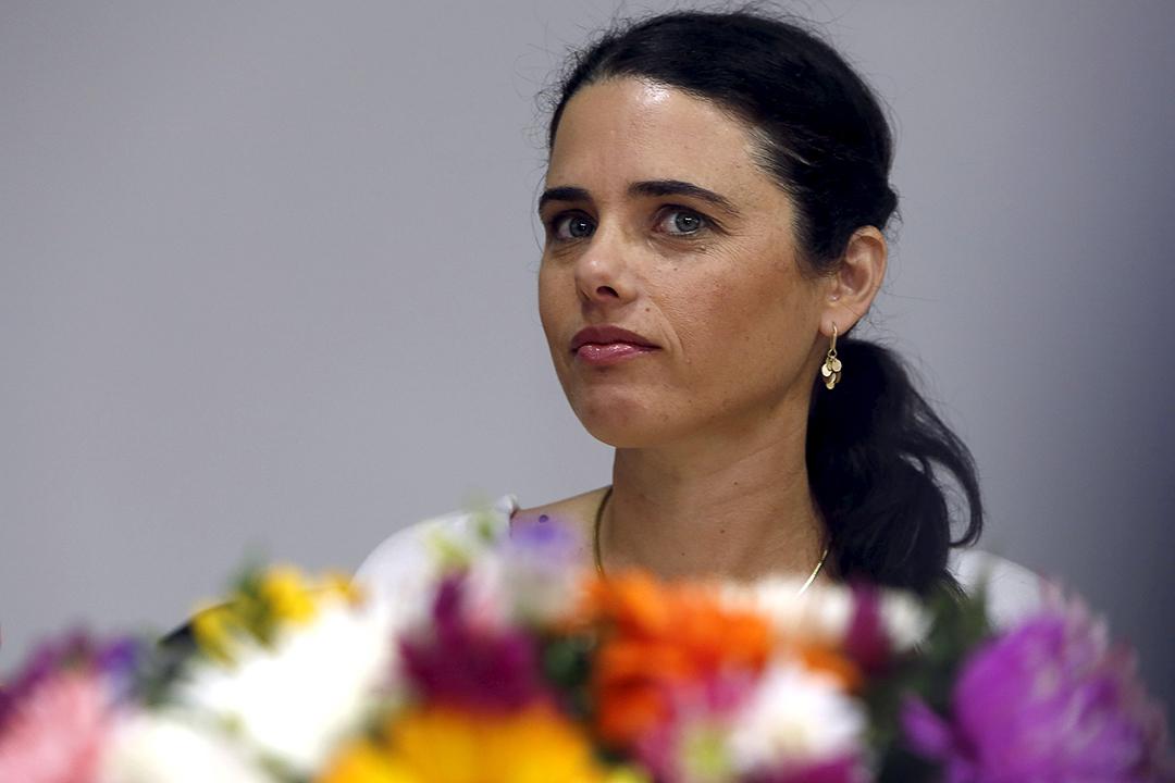 Ayelet Shaked à Jérusalem, le 17 mai 2015.