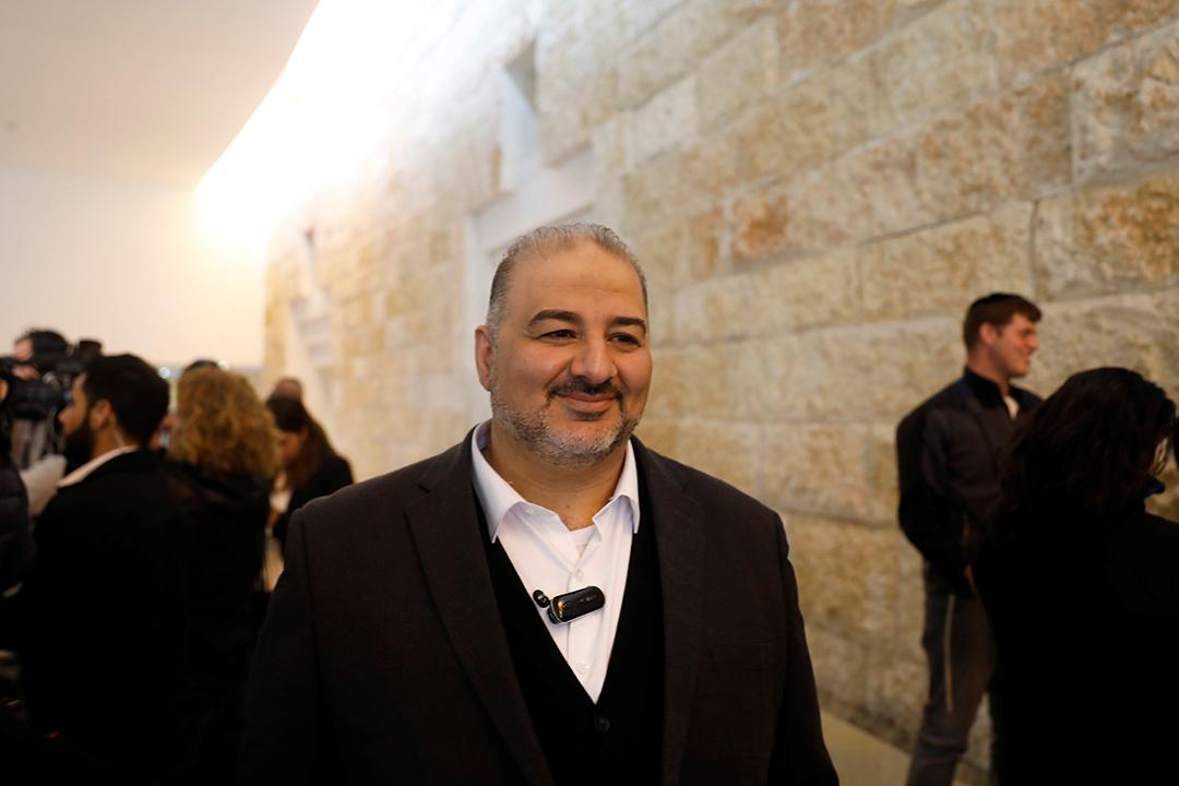 Mansour Abbas à Jérusalem, le 14 mars 2019.