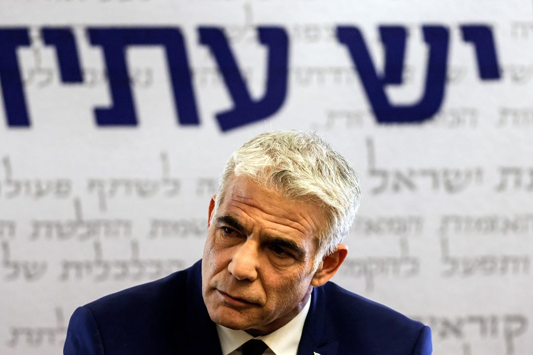 Yaïr Lapid à Jerusalem, le 7 juin 2021.