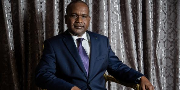 Alpha Barry, ministre burkinabè des Affaires étrangères.
