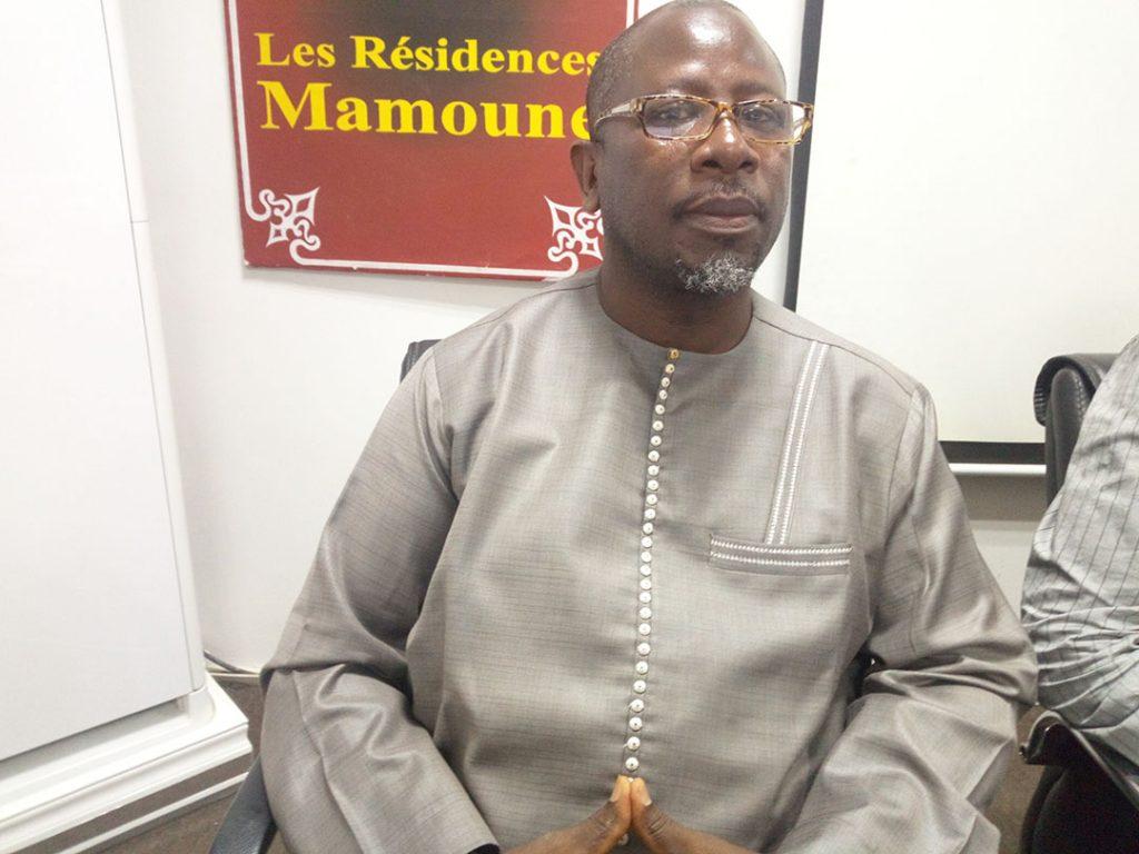 Ababacar Fall, secrétaire général du Groupe de recherche et d'appui-conseil pour la démocratie participative et la bonne gouvernance (Gradec).