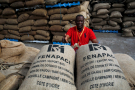 Adama Bamba, président de la Fenapaci, une association de producteurs de noix de cajou, à Abidjan.