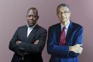 Kako Nubukpo et Lionel Zinsou