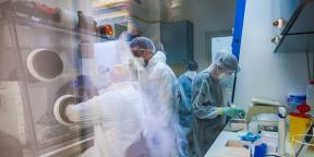 Dépistage du coronavirus à l'Institut Pasteur de Tunis, en avril 2020