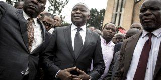 Vital Kamerhe, le 12 janvier 2018 à Kinshasa.