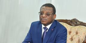 Le Premier ministre Joseph Dion Ngute.