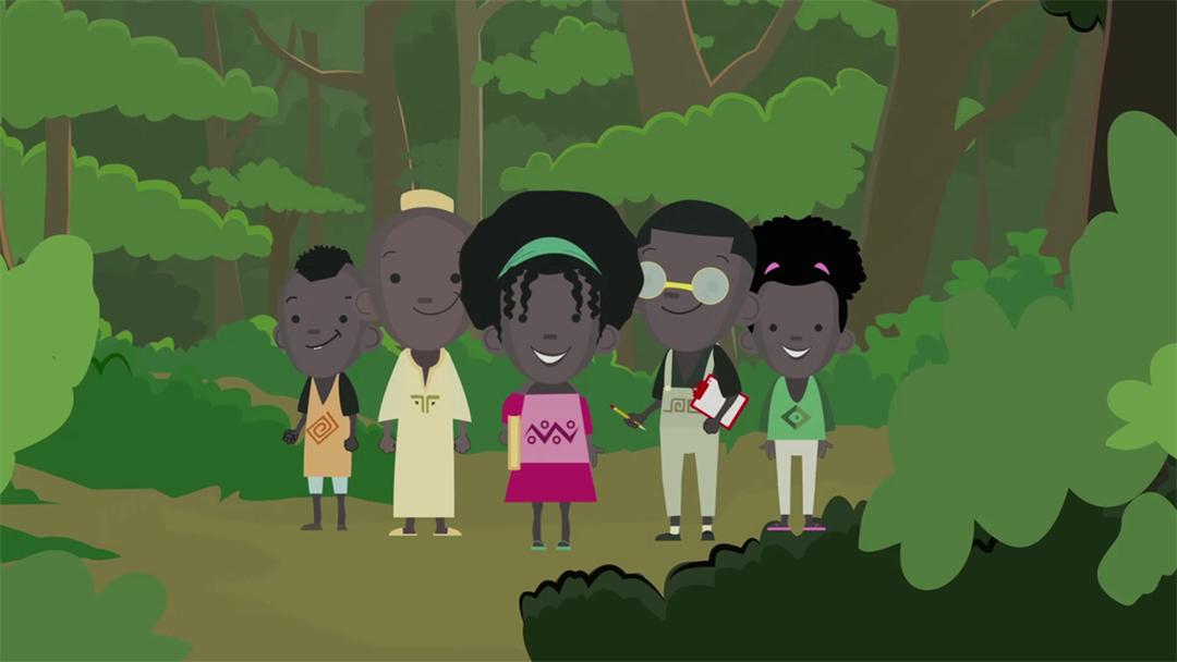 La séried'animation «Kenda», réalisée par Stéphane Mendonça