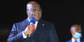 Félix Tshisekedi, le 12 mai 2021 à Kolwezi.