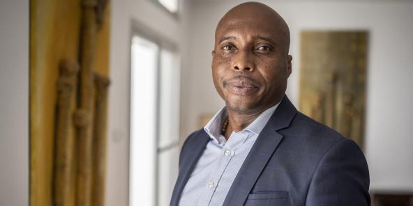 Bathélémy Dias, candidat à la mairie de Dakar.