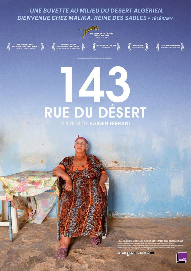 Affiche de «143 rue du désert»