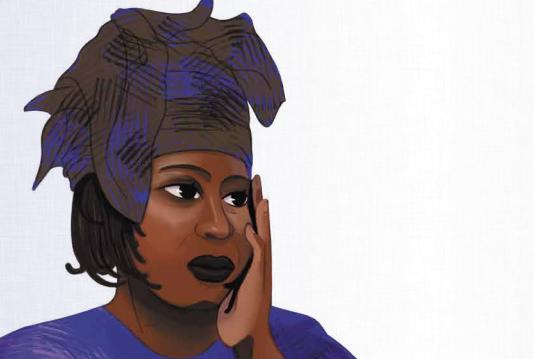 L'écrivaine sénégalaise Mariama Bâ