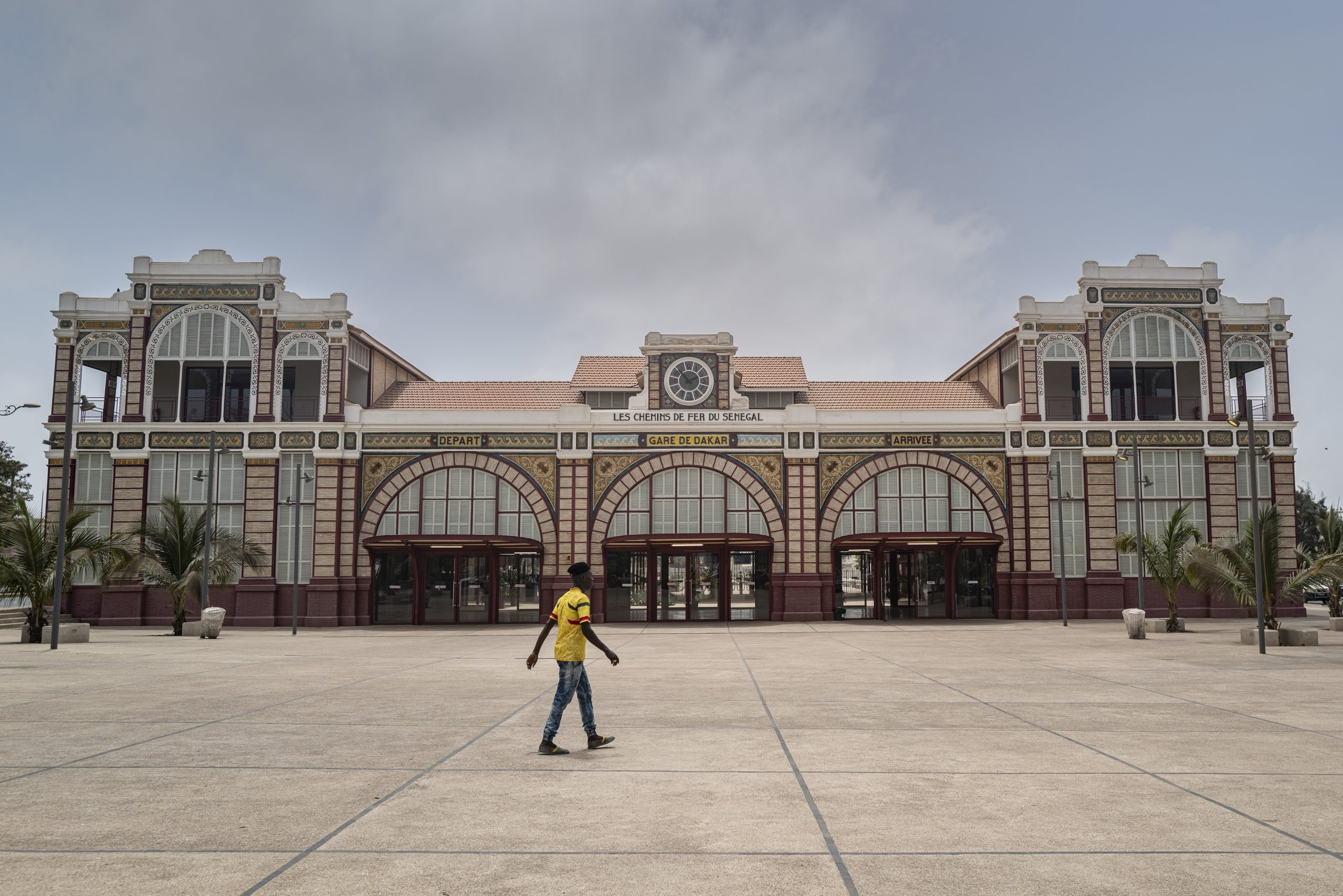 La gare de Dakar.
