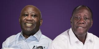 Laurent Gbagbo et Alassane Ouattara.