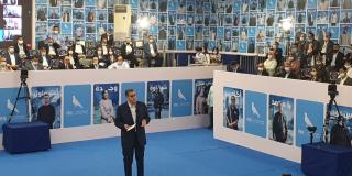 Aziz Akhannouch, en campagne électorale du RNI.