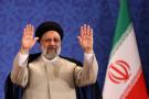 Ebrahim Raïsi lors de sa première conférence de presse depuis sa victoire électorale à Téhéran, le21juin2021.
