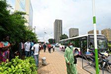Abidjan, en novembre 2020.