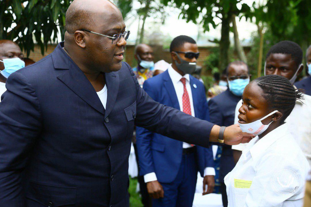 En tournée dans l'Est, Félix Tshisekedi était le 22 juin à Beni, dans le Nord-Kivu, l'une des deux provinces dans lesquelles l'état de siège a été décrété, au début de mai.
