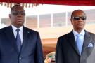 Le président sénégalais Macky Sall et le président guinéen Alpha Condé, en mars 2015 à Conakry