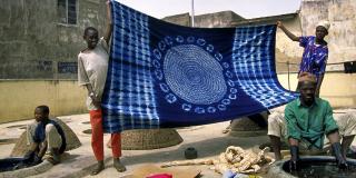 Les teintureries de Kofar Mata, à Kano, dans le nord du Nigeria.