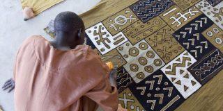 À l'institut Ndomo de Segou, au Mali.
