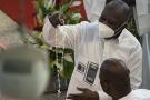 Laurent Gbagbo, le 20 juin, à la Cathédrale Saint Paul d'Abidjan.