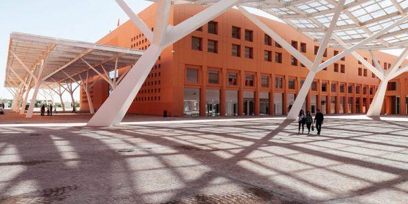 Université Mohammed VI Polytechnique à Ben Guerir.