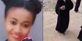 Mélanie, jeune Malgache de22ans assassinée en Arabie saoudite.