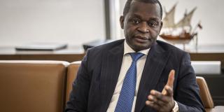 Le ministre sénégalais du Tourisme et des Transports aériens, Alioune Sarr, à Dakar en juin 2021.