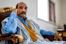Mohamed Ould Abdelaziz à Nouakchott le 12 avril 2021© Bechir Malum pour JA