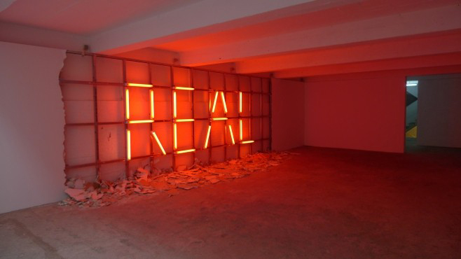 «Life Real» (2011), de Mohamed el Baz, est exposé à la Condition publique à Roubaix.