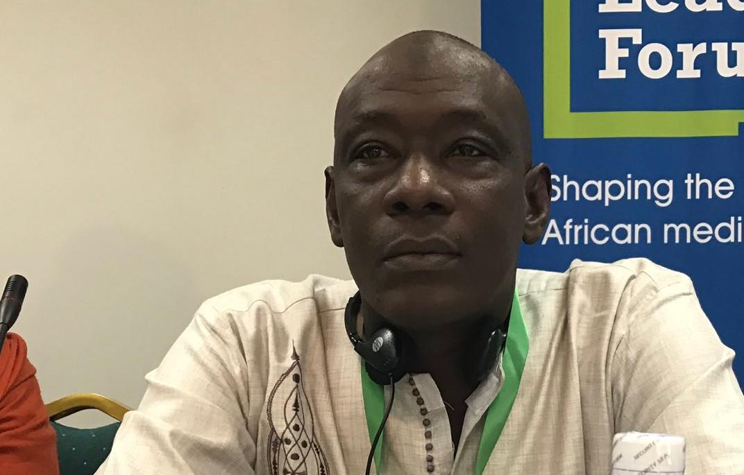 Le Dr Ibrahima Sangho, président de l'Observatoire pour les élections et la bonne gouvernance.