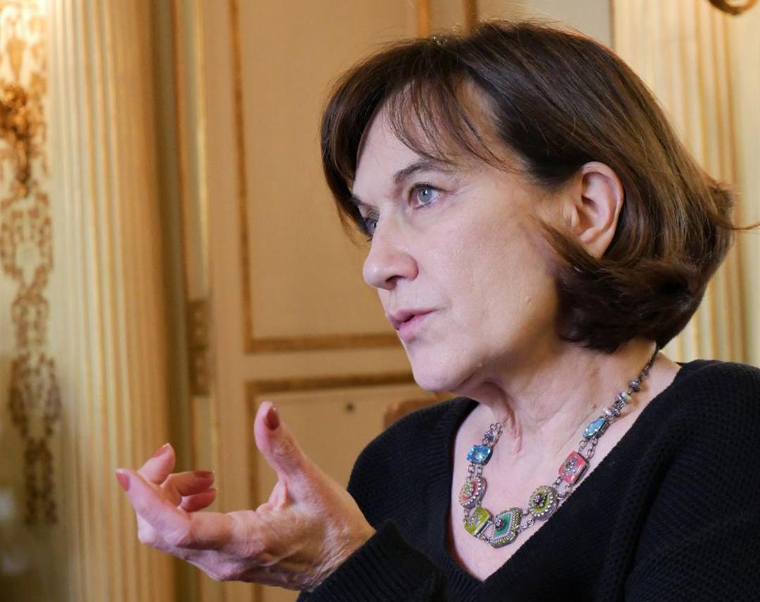 La sénatrice française Laurence Rossignol.