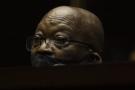 Jacob Zuma, le 23 mai 2021 à la Haute Cour, à Pietermaritzburg.