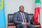 Le ministre des Affaires étrangères du Burundi, Albert Shingiro.