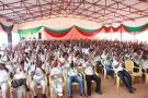 Meeting du CNDD-FDD dans la province de Rutana, le 10 avril 2021.