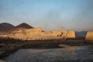 Le méga-barrage controversé est situé sur le cours supérieur du Nil. Cette vue générale a été prise en décembre 2019.